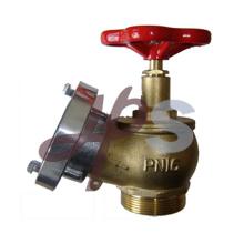 Латунь пожарный гидрант посадки клапана с крышкой