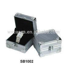 Estuche de aluminio de alta calidad ventas por mayor para el único reloj del fabricante de China