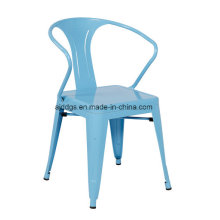 Cadeira de ferro Tolix braço cadeira (dd-52)