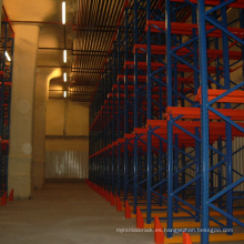 Estantería / unidad de plataforma de carga pesada con revestimiento de polvo en estantería para almacén