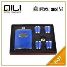 Establecido por la FDA 8oz pequeño frasco de la cadera (4 tazas y embudo)