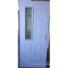 Elegante porta de painel de design de vidro de vidro americano