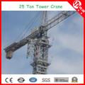Tc8031 Carga máxima Guindaste de torre de grande capacidade de 25 toneladas a 80 m de altura
