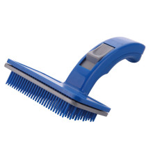 Hot Auto-Cleaning Pet Dog Cat Hair Push Brush Self Cleaning