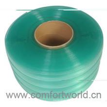 Cortina de porta frisada plástica de alta qualidade de China