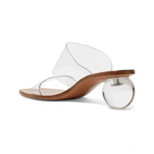 Fashion women sandals high heels newest big size transparent Custom comfortable sandals for women new arrival sandals for ladies