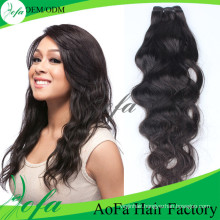 7A Grade Unprocessed Natural Wave Virgin Brazilian Human Hair