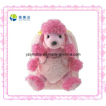 Pink Fashion Dog Plush Backpack