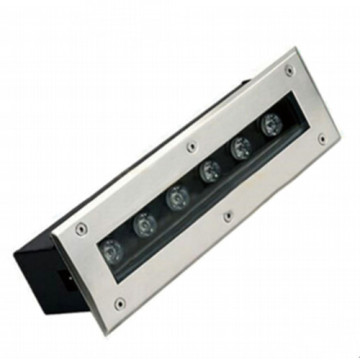 선형 블랙 6W LED Inground Light