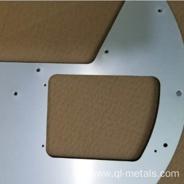 0.5mm Anodized Aluminum Sheet Metal Parts with Deburring