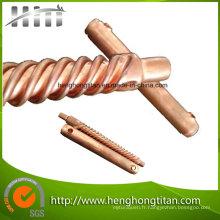 Tube de spirale pour le transfert thermique efficace