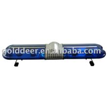 Barra de luz azul ambulância Lightbar giratório