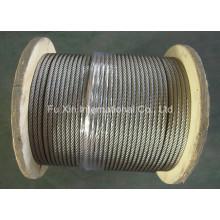 Cuerda de alambre de acero inoxidable Ss