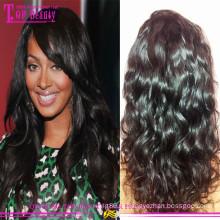 2015 завод оптовая индийские человеческие волосы парики волнистые дешевые парики человеческих волос для черных женщин