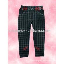 Pantalones de impresión sin costura de señoras