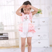 Baby girl summer boutique bubble romper