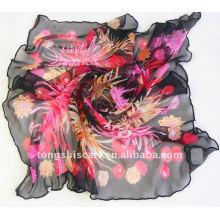 Lenço da cópia da flor da forma 2013