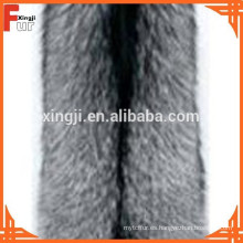 Piel de zorro plateado de color natural de grado chino
