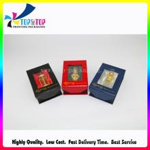Elegant Square Design Paper Perfume Box with Window