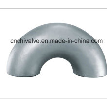 Ss Seamless Butt Welding 180 Degree Elbow Fittings Pipe