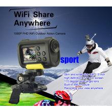 Mejor mini hd completo 1080p wifi deporte acción cámara digital con wifi
