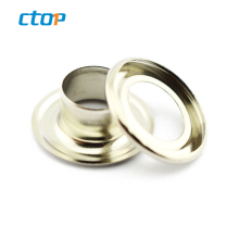 Professional Manufacturer Wholesale Clothing Metal Brass Metal Oval For Shoe Metal Eyelet For Sale