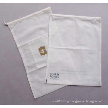 O hotel não tecido impresso do cordão veste o saco de lavagem da lavanderia da limpeza (YKY7405)