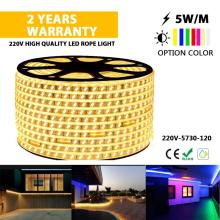 5730 High quality LED strip lights rope light