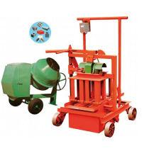 2014 Heißer Verkauf in Indien Qm40A Ei, das bewegliches Block bildet, das Maschine herstellt