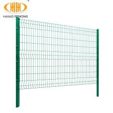 Prix grillage rigide en 3d pour cloture poteaux et bavolet, rigid wire mesh price for fence