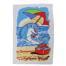 Sublimation de serviettes de plage Magic en polyester