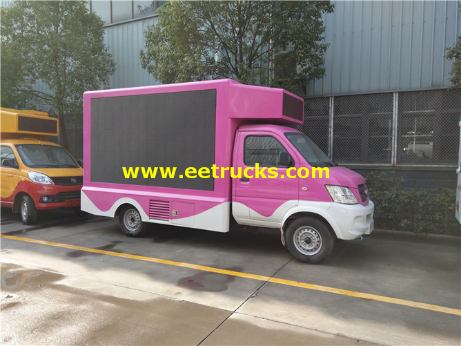 P4 outdoor LED Mobile Advertising Vehicles