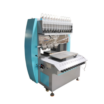 Dispenser Filling 12 Color Machine For Shoe Garment