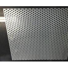Grille de haut-parleur perforée en métal, grillage métallisé perforé / métal perforé