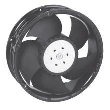 172mmx151mmx51mm Boîtier thermoplastique et hélices Ventilateur axial DC17251
