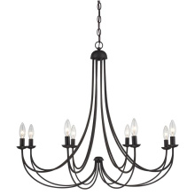 Iron Chandelier Lighting mit sauberem Design für Home Design Styles (SL2501-8)