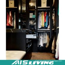 Hochwertige schwarze Farbe Kleiderschrank (AIS-W367)