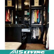 High Quality Black Colour Wardrobe Closet (AIS-W367)
