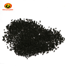 Waste pool chemicals activated carbon black pellet with coal based