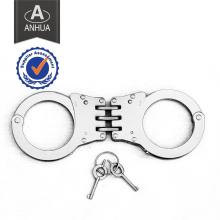Polícia aço inoxidável algema com padrão ISO