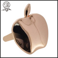 Rose gold Apfel Pin Clip Metall