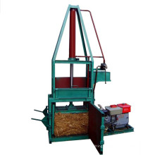 Hydraulic vertical waste paper used cardboard carton baling press with CE certificated