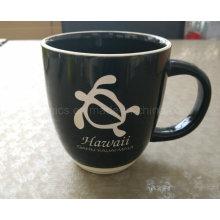 Taza de café 14oz, taza de cerámica grabada laser