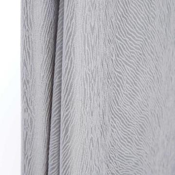 High Density Silk Like Curtain with Various Designs