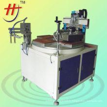 Plastique \ emballage \ plaque métallique \ cuir une couleur incroyable HS-350P Precise Flat Surface Screen Printer avec aspirateur USD3477 / pcs EXW.