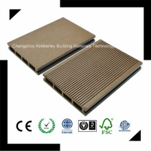 145*25 High Level Plasticity PE Waterproof Laminate Wood Plastic Composite Decking