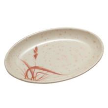 "Melamine""Autumn Grass""Series Melamine Oval Plate/High-Grade Melamine Tableware (AG6310)"