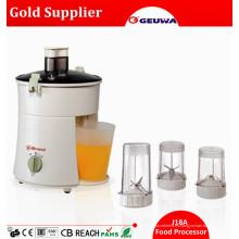 Procesador de alimentos eléctrico J18A del juicer / de la licuadora del CE del motor de cobre de la calidad 300W mini