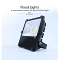 Cahaya Banjir Outdoor LED untuk Area Lighting