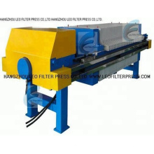 Leo Filterpresse Kammertyp Filterpresse, Kammereinbauplatte Filterpresse